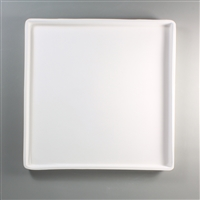 "GM146 12"" x 12"" Patty Gray Tray"