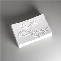GM217 Fish Texture Soap Dish