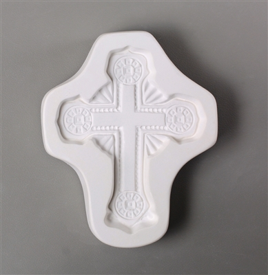 LF155 Ornate Cross Mold