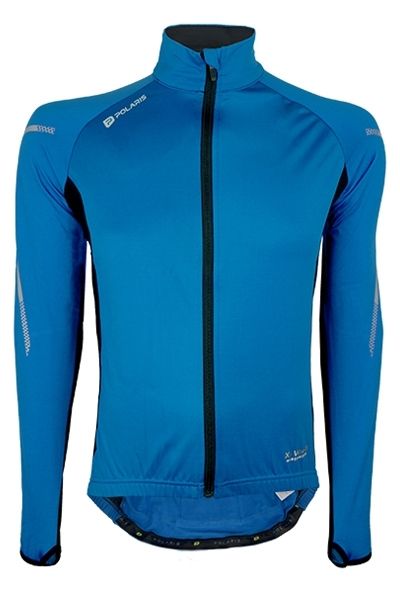 The Niteride Windproof Thermal Cycling Jersey is designed with laminated windproof front panels to the body and Thermastretch knit fabric for the remainder of the garment.