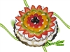 Cluster of Fresh Fruits Cake