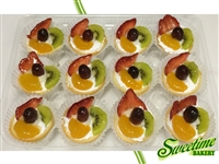 Fruit Tart Tray - One Dozen