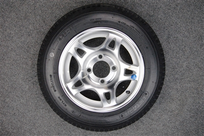 Aluminum Clear cut-out wheels