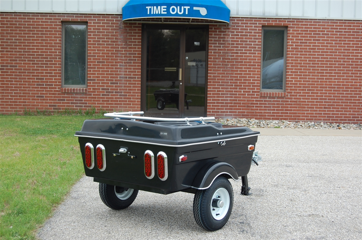 Cycle Mate 1000 Motorcycle Cargo Trailer