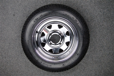 "Chrome Wheels Triangle cut-outs 12"" or 8"""
