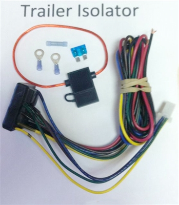 Motorcycle wiring Isolator kit for trailers
