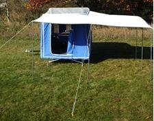 L Shaped Awning time out camper