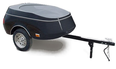 Zephyr motorcycle cargo trailer, Time Out Trailers