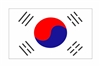 South Korea Flag Vinyl Decal Sticker