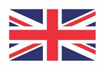 United Kingdom of Great Britain and Northern Ireland Flag Vinyl Decal Sticker