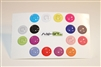 16pc Solid Colors 3D Home Button Stickers for Apple iPhone 5 4/4s 3GS 3G, iPad 2, iPad, iPad mini, iPad 3, iPad 4, itouch