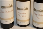 Custom Personalized Wine labels for weddings, birthdays, anniversaries and more