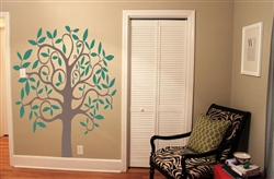Tree S4x488472 Vinyl Wall Art Decal Peel and Stick Sticker