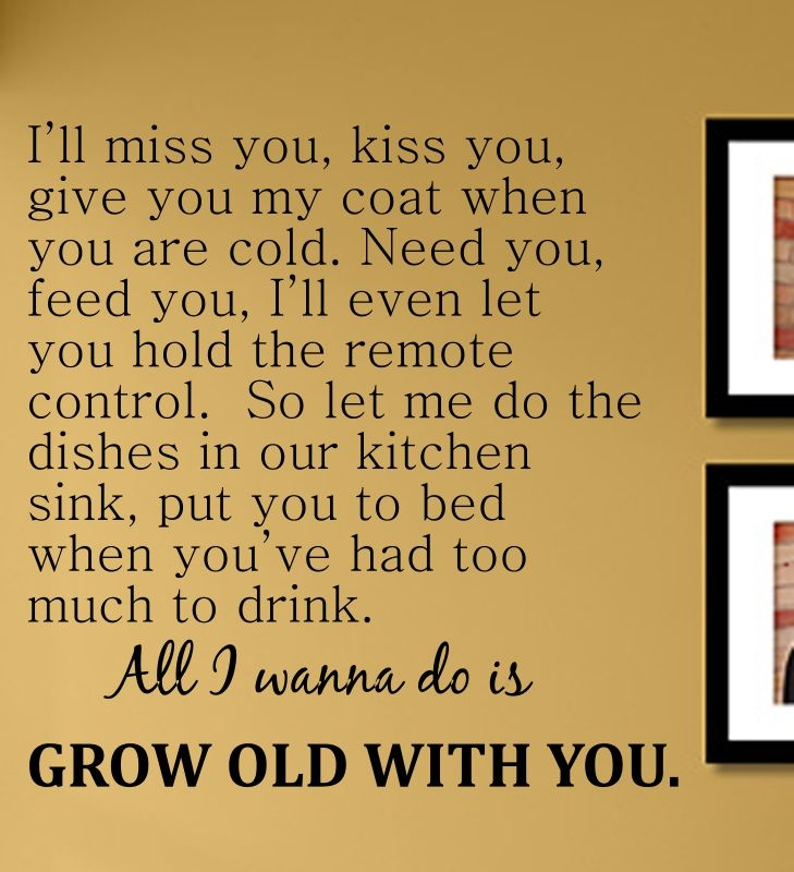 I\'ll miss you, kiss you, give you my coat when you are cold. Need ...