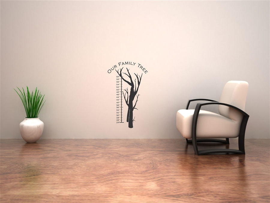Our Family Tree Vinyl Wall Art Decal Sticker
