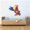 Parrot Vinyl Wall Art Decal Peel and Stick Sticker