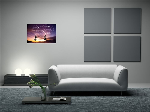 The moment i heard my first love story Vinyl Wall Mural wall mural