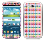 Rainbow Stripes SASKIN38861 Phone Skin Decal Sticker