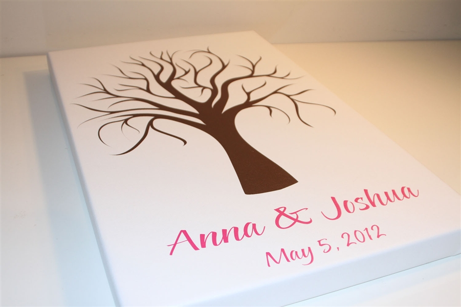 Canvas guest books guest book alternative wedding guest book tree guest book s9x38816 guest book alternative for weddings birthdays baby showers junglespirit Image collections