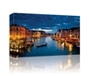 Grand canal at night in Venice, Italy GALLERY WRAPPED CANVAS