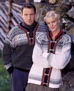 Dale of Norway -SETESDAL CARDIGAN - black or white