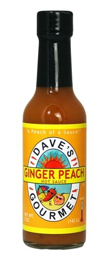 Ginger Peach Hot Sauce
