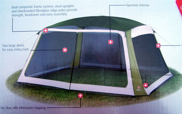 Alternative Views & 12u0027 x 14u0027 Tall SCREENHOUSE TENT Screen House