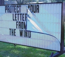 Road Sign Wind Guards