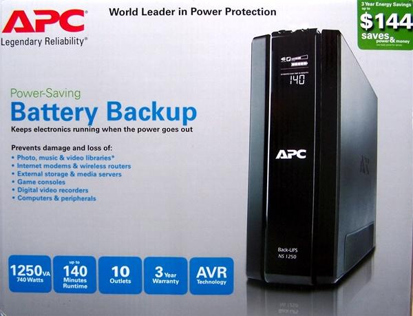 Apc 1250 Battery Backup Surge Protector