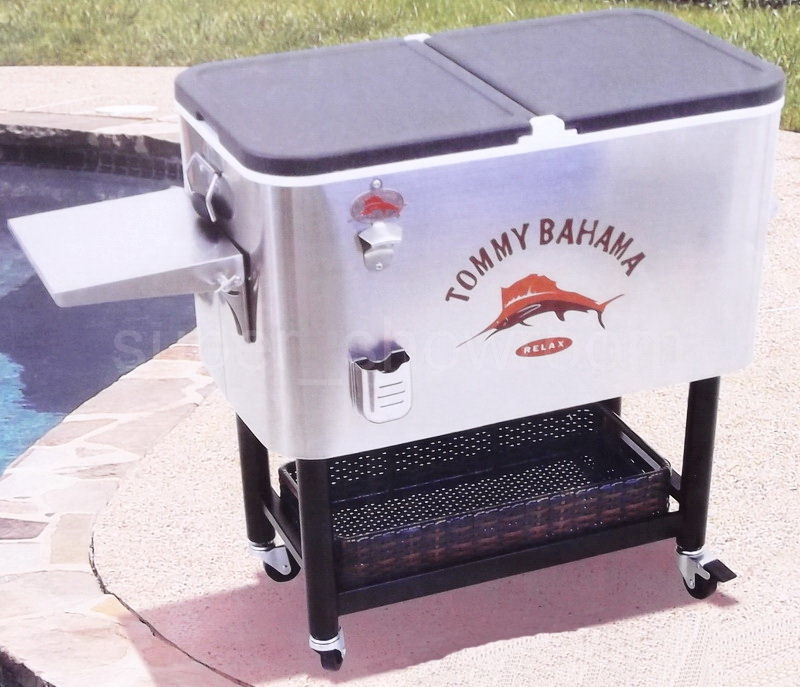 Beautiful Huge 100 Qt Stainless Steel Party Cooler Ice Chest