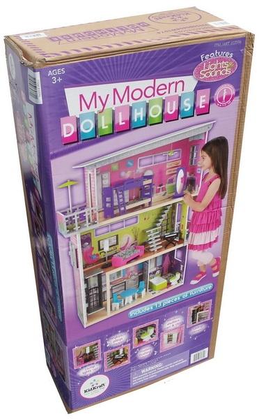 KidKraft 3 Story Wood Dollhouse My Modern Mansion Doll House 13