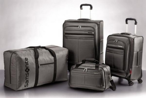 Samsonite 4 Piece Spinner Suitcase Luggage Set