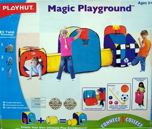 Free ...  sc 1 st  Shop Three Brothers & Huge Playhut Tunnels u0026 Tents Pop Up Magic Playground Set
