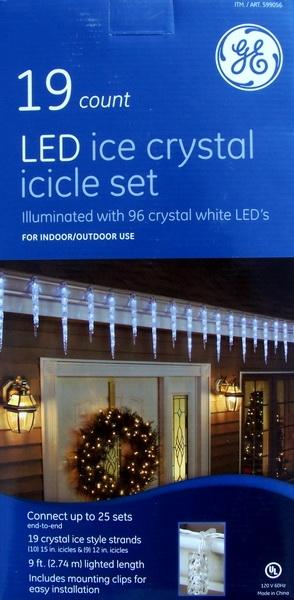 free - Outdoor Icicle Christmas Lights