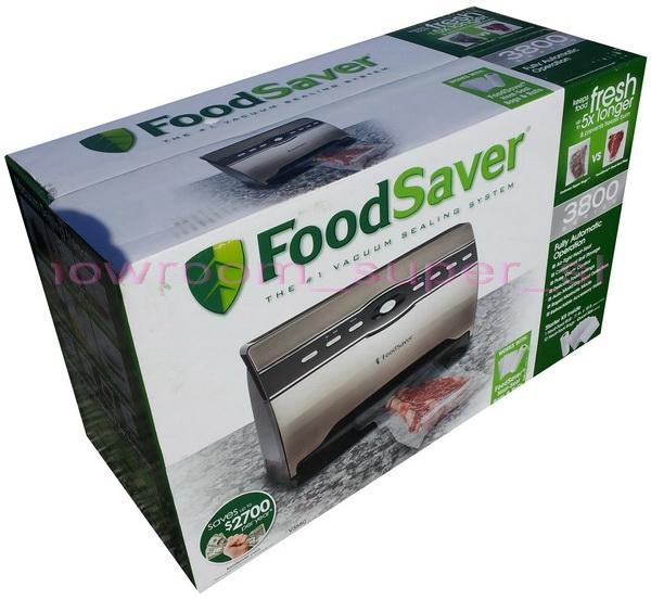 New FoodSaver 3800 Vacuum Sealer Kit Food Saver Smart Sealing System Starter
