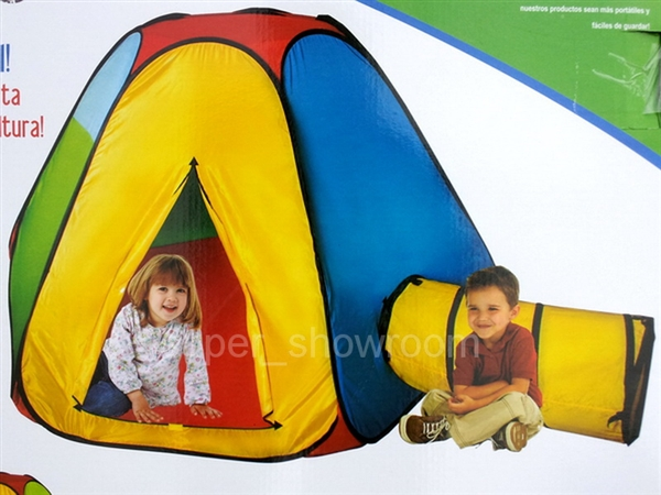 Alternative Views  sc 1 st  Shop Three Brothers & Big Playhut Hexagon Hut Tunnel u0026 Tent Pop Up Set Play Hut Twist N Fold