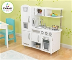 KidKraft Girls Vintage White Retro Kitchen