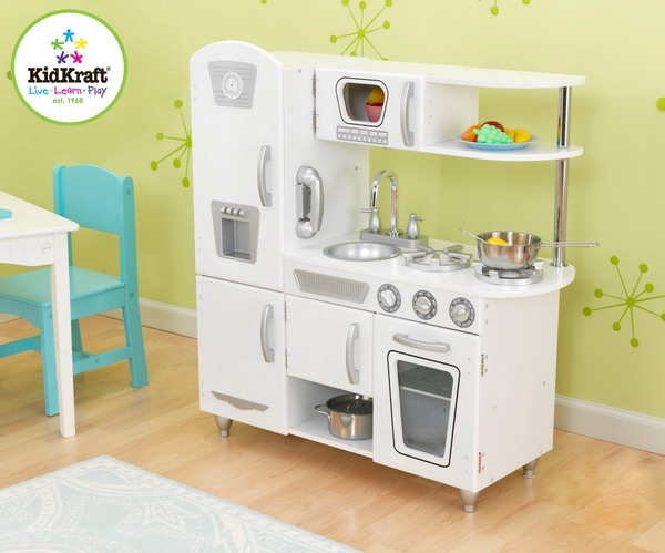 Kidkraft White Retro Kitchen Set