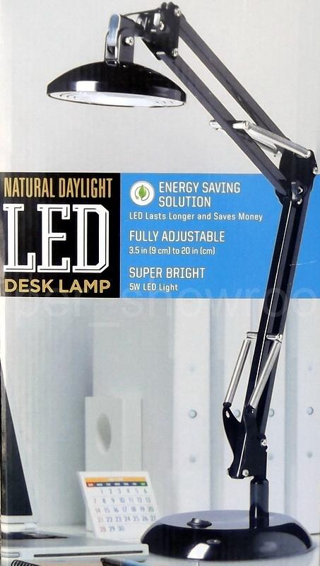 Sunter Lighting Natural Daylight Fully Adjustable 35 To 20 LED – Daylight Desk Lamp