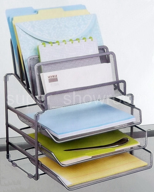 S3b13011413 on 3 tier sliding tray with mesh