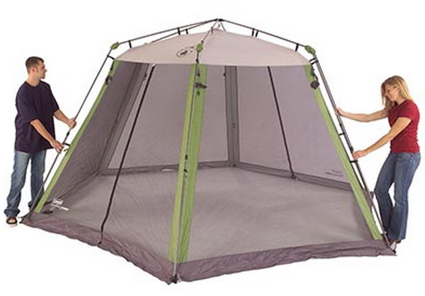 Free ...  sc 1 st  Shop Three Brothers & Large Coleman Screen House Tent 15u0027 x 13u0027 Canopy Mesh Walls