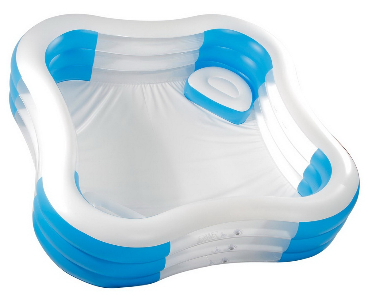 Inflatable Swimming Pool Family Size 7 39 6 Square 22 Deep
