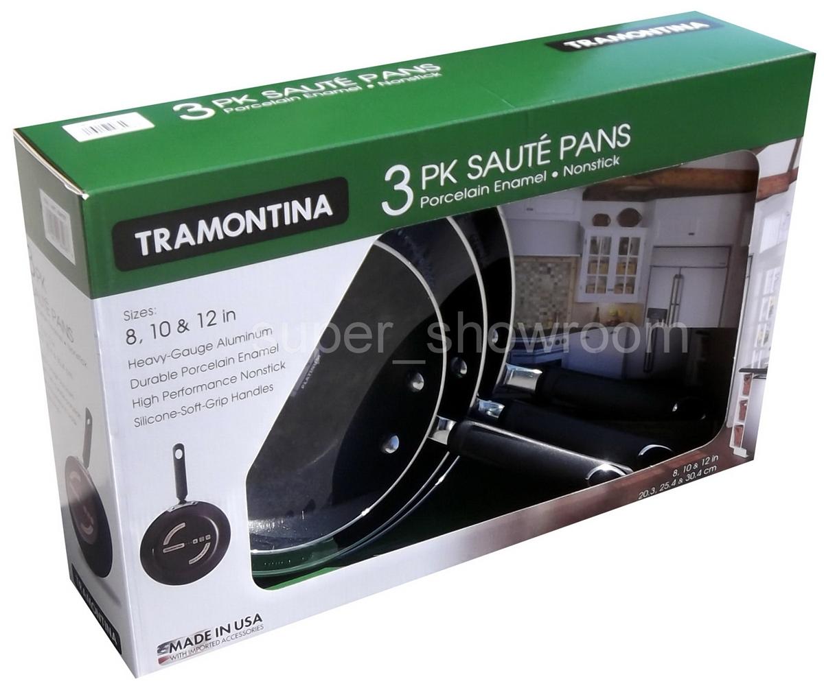 Tramontina Frying Pan Set 8