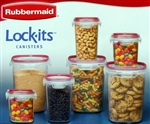 Rubbermaid Easy Find Lid 14 Piece Glass Storage Set