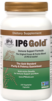 IP6 Gold Patented IP-6 & Inositol Blend - 240 capsules - IP-6 International 019852102633