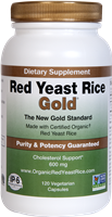 Red Yeast Rice Gold - 120 capsules - IP-6 International