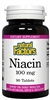 Niacin 100 mg - 90 tablets - Natural Factors