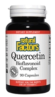 Quercetin Plus Bioflavonoid 235mg - 90 Caps - Natural Factors
