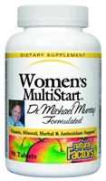 Dr. Murray Multistart Women's - 90 Tabs - Natural Factors: 068958015804