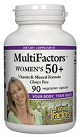 Multifactors Women's 50+ - 90 Veg Caps - Natural Factors